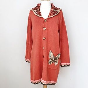 Vintage Butterfly Cardigan